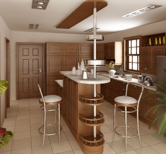 Как можно обустроить свою кухню в небольшой квартире?